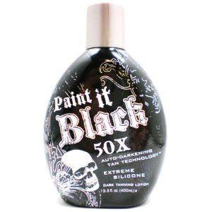Millenium Tanning New Paint It Black Auto-darkening Dark Tanning Lotion, 50X, 13.5 Ounce --- http://bizz.mx/wf8