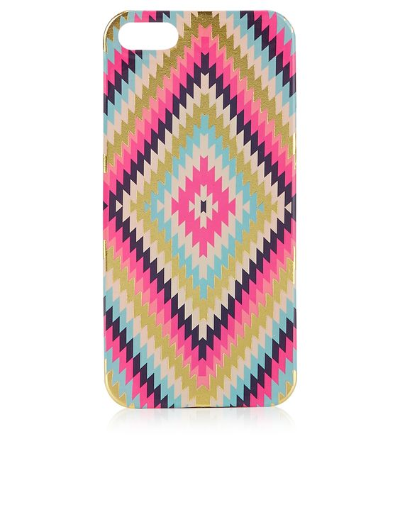 Neon Aztec iPhone 5 Case | Multi | Accessorize
