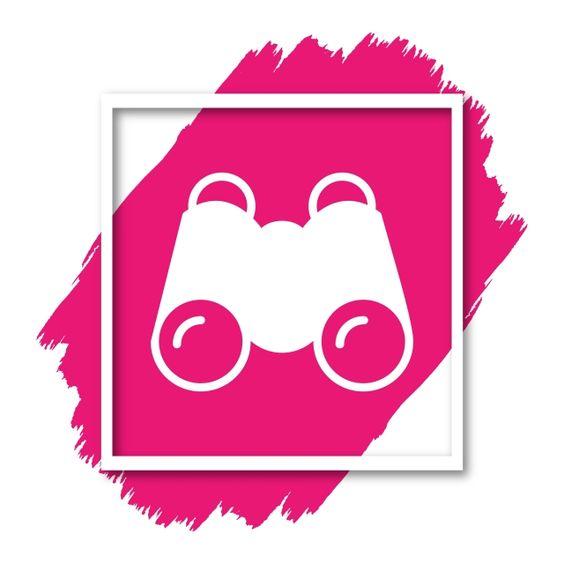 منظار أيقونة لمواقع تصميمك ومشاريعك منظار العثور على عدسة مكبرة Png والمتجهات للتحميل مجانا Website Design Design Your Design