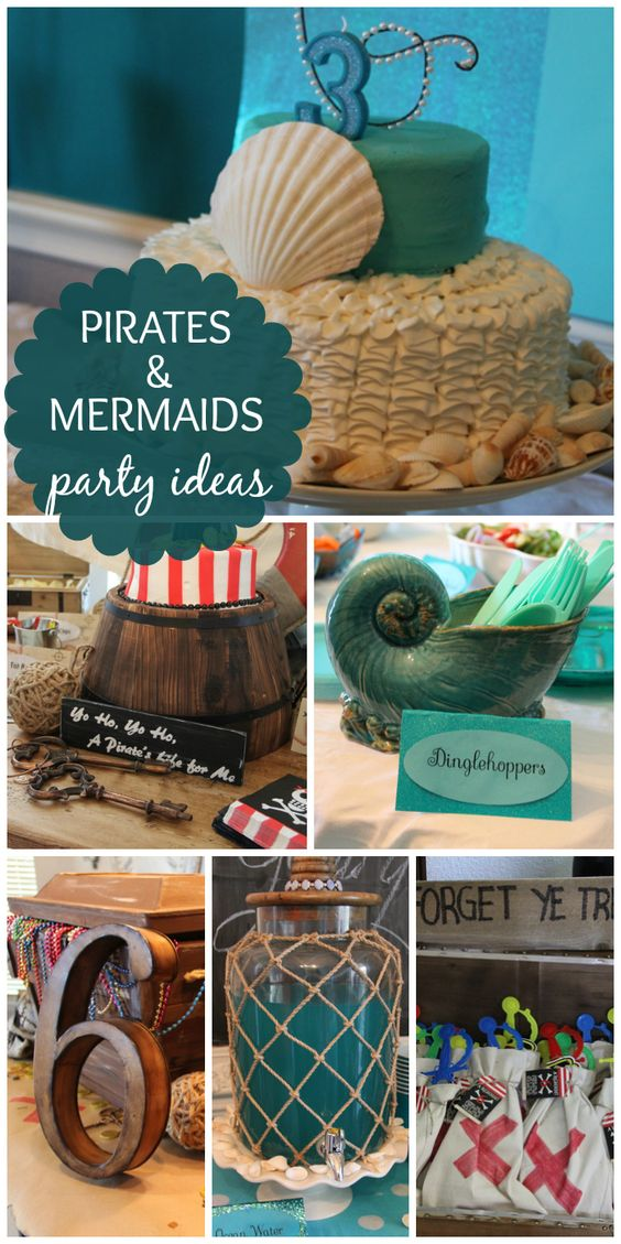 Girls pirate party  Etsy