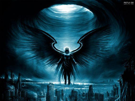 images of black angels   700