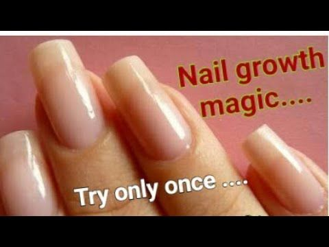 Going From Short Nails To Long Natural Nails 3 Month Nail Growth 4 Ways To Grow Your Nails Fast Youtub How To Grow Nails Grow Long Nails Grow Nails Faster