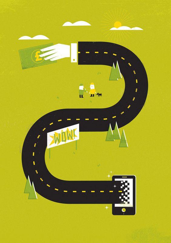 Techtalk Magazine by Dale Edwin Murray, via Behance