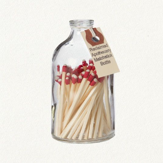 I like this idea: Diy Matchstick, Bottle They Re, Apothecary Matchstick, Decoración Objetos, Inspiration Ideas, Matchstick Bottle, Match Boxes
