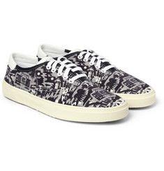 Stripy shoes
