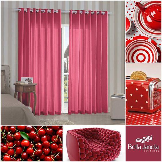 Para os amantes do vermelho, que tal uma decoração todinha coordenada?