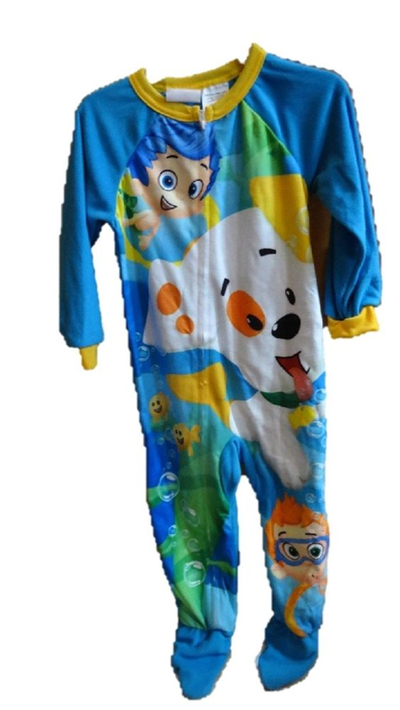 Bubble Guppies Footed Pajamas 12m - 5t | Baby Boy Clothes ...