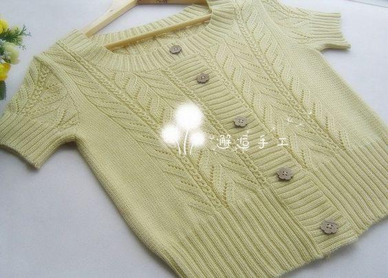 Кофточка с ажурными вставками спицами. Схема вязания женской кофточки спицами | Я Хозяйка