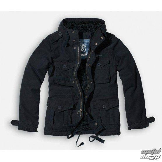 veste d`hiver pour hommes Vintage Diamond BRANDIT 3102-schwarz