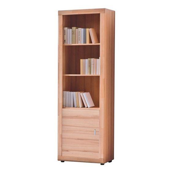 REGAL in 65/201/37 cm Buchefarben - Bücherregale - Büroregale - Arbeitszimmer - Produkte