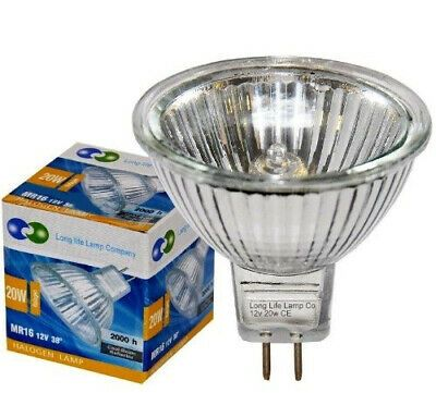 2 X Long Life Mr16 20w Halogen Bulbs Gu5 3 Lamp 12v Halogen With Aluminium Fashion Home Garden Homedcor Otherhomedcor Ebay Link Halogen Bulbs Lamp Bulb