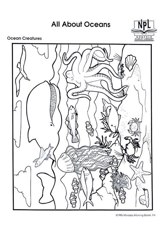 sea life worksheets | ... ocean theme preschool printables ...