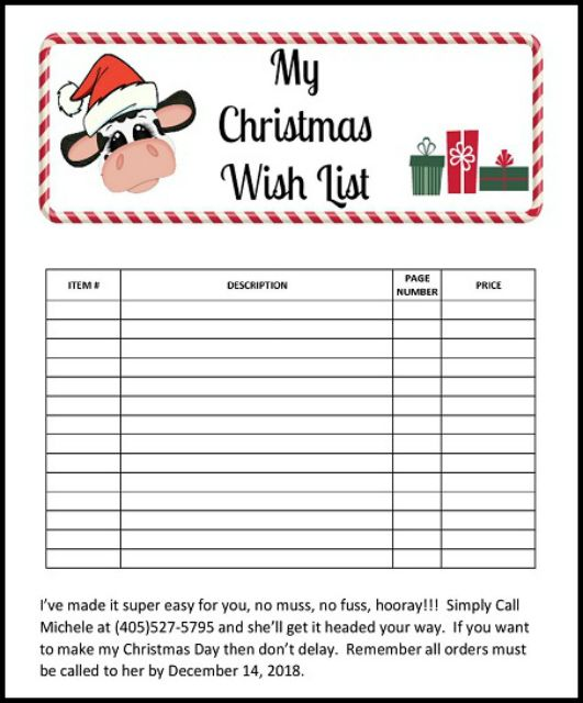 Print Your Christmas Stamping Wish List Here Today My Christmas Wish List Wish Wishlist