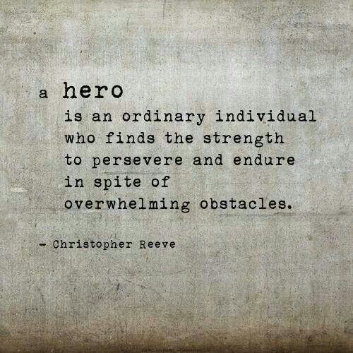 A hero.