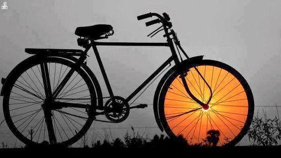 Fotos criativas do sol tiradas na hora certa.