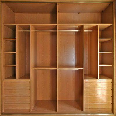 Distribuci n del espacio armarios y vestidores - Organizacion armarios ...