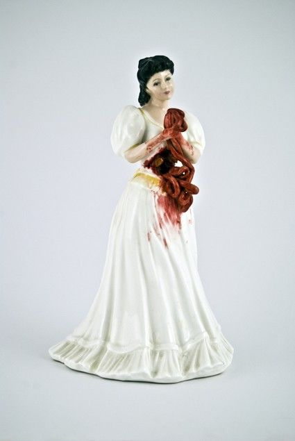 Porcelain Sculptures by Jessica Harrison