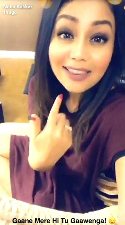 Gaane Mere Hi Tu Gaawenga Neha Kakkar Selfie Video Song Neha Kakkar Celebrities Selfie