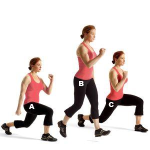 2 – Mixer cardio et renforcement musculaire avec les fentes