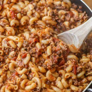 Easy Cheesy Beef Goulash Recipe Video Lil Luna Recipe Goulash Recipes Beef Goulash Easy Goulash Recipes