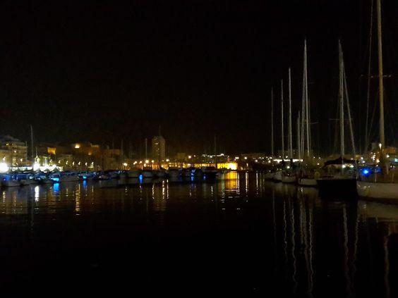Le Vieux Port de Marseille, la nuit - 2016