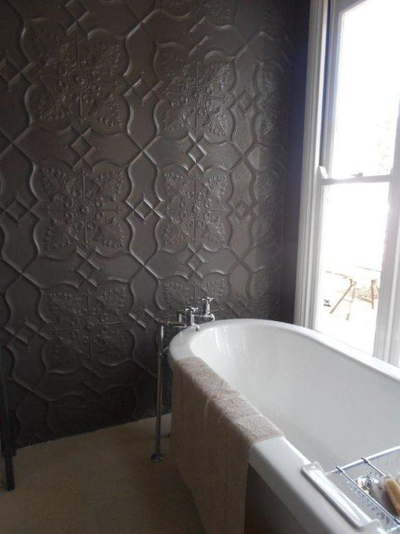 Pressed Tin Bathroom Mirror Google Search Beautiful