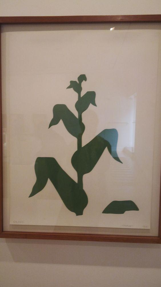 MAÍZ :serigrafia sobre papel