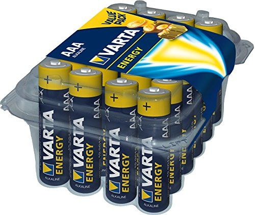 Varta Energy Micro Aaa Alkaline Battery 24 Pack Varta Energy Micro Alkaline Battery Pack Alkaline Battery Energy Alkaline