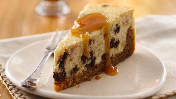 Whip up an indulgent cheesecake using an easy cookie crust, chunks of brownies and a rich caramel sauce.
