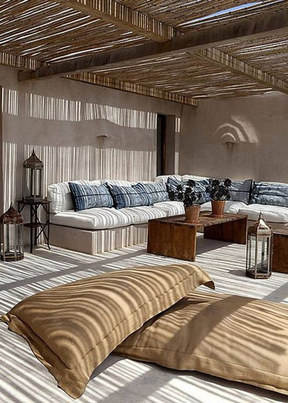 Tes nature and inspiration on pinterest for Mobilier exterieur terrasse