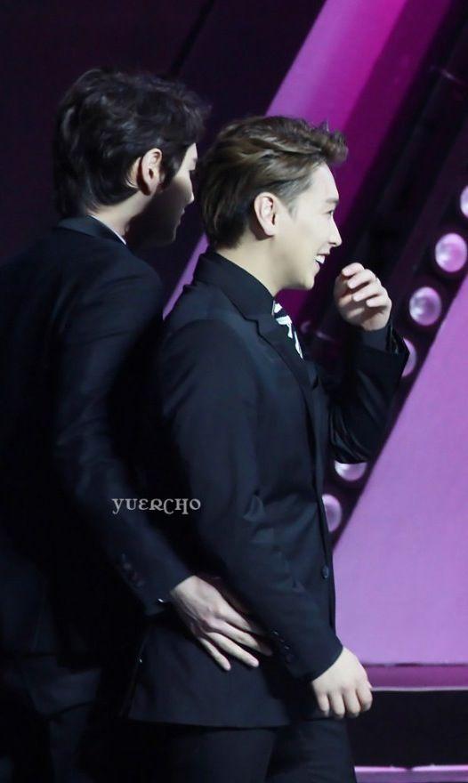 Kyuhyun and Sungmin