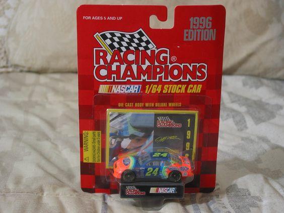 http://nascarniche.blogspot.com/  Nascar Niche: JEFF GORDON 1996 Dupont Rainbow Racing Champions Nascar Diecast