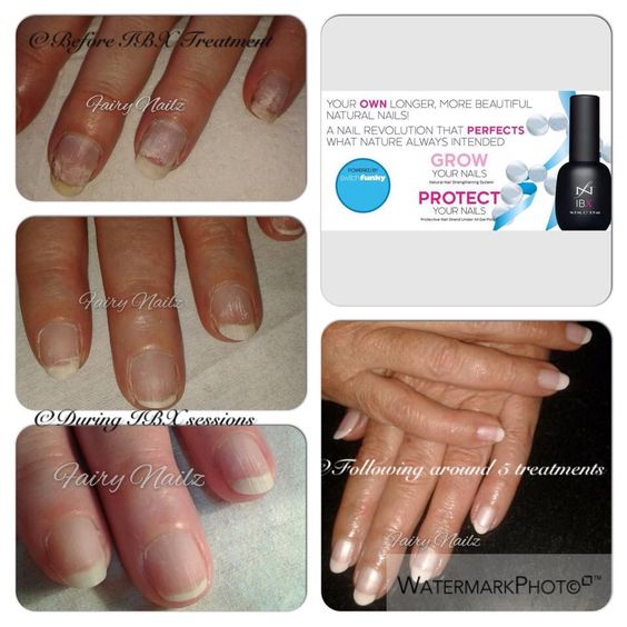 Cnd shellac nail repair