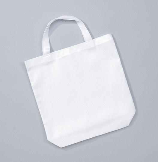 White Cotton Tote Bag By Wear M 6