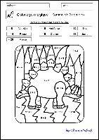 Coloriages magiques gs cp ce1 les coccinelles m8 mate fitxak pinterest - Coloriage magique addition ce1 a imprimer ...