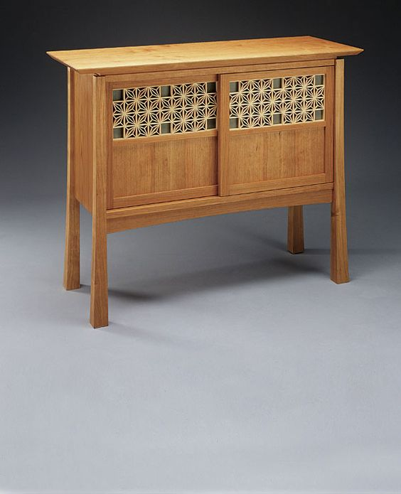Japanese Lattice Cabinet - Reader's Gallery - Fine Woodworking
