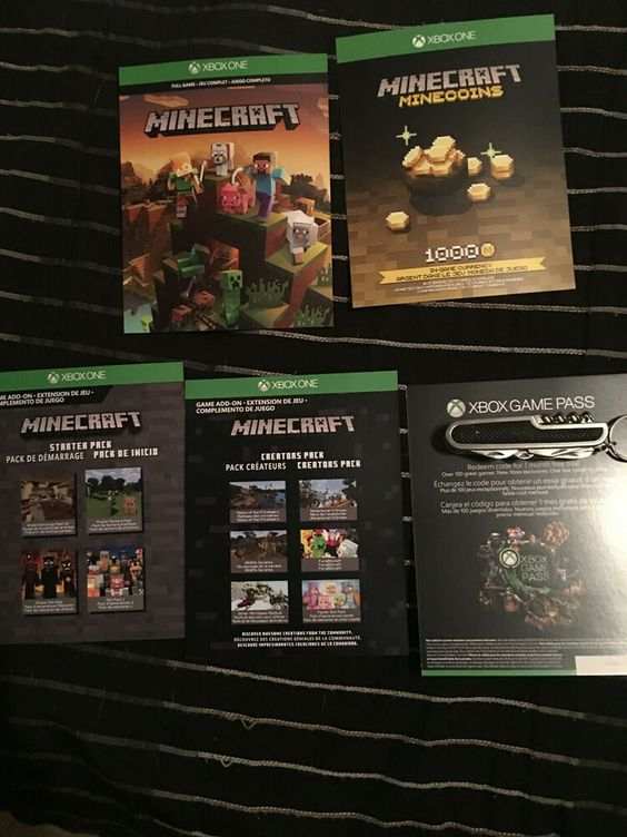 Minecraft Super Plus Pack With Xbox Game Pass And Xbox Live Trial