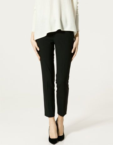 Skinny black pants from Zara 299kr