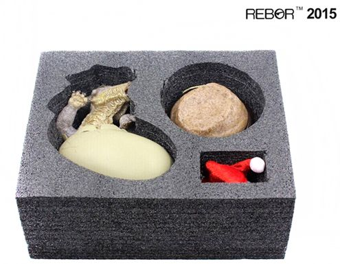 """Just opened a Rebor Club Selection limited edition """"Jolly"""" the hatching Triceratops dinosaur model."""