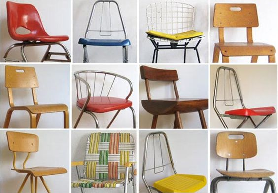 Vintage Kids Chairs