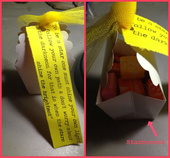 Starbursts candy gift