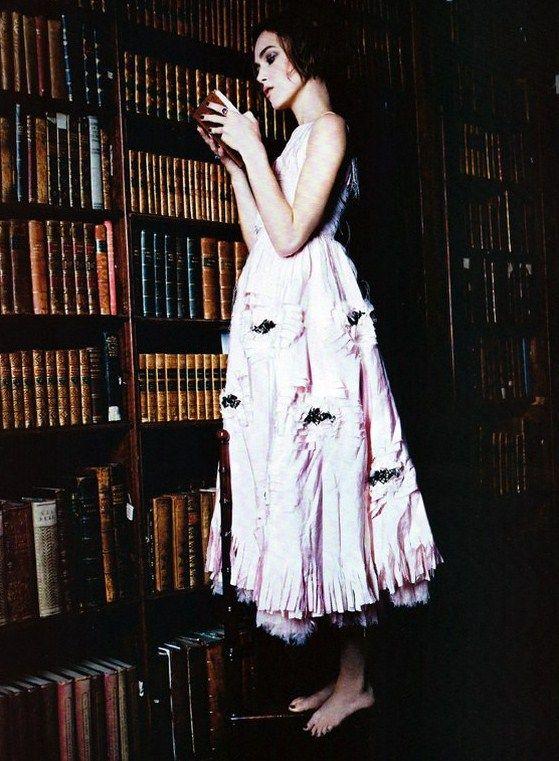 Keira Knightley by Ellen Von Unwerth for Vogue Italia Jan. 2011