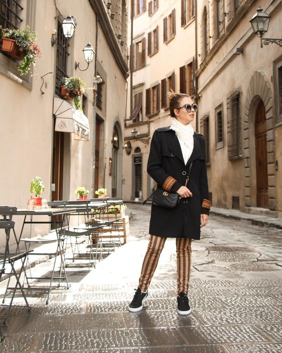 Look do dia  Itália  Ruas da itália