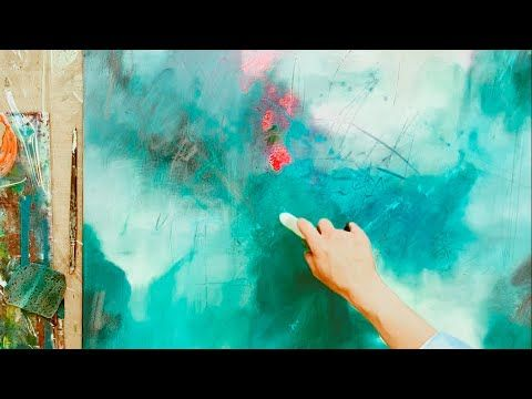 Abstrakte Malerei Easy Fur Anfanger Simples Werkzeug Acryl Youtube Blumenmalerei Abstrakt Abstrakte Malerei Malerei