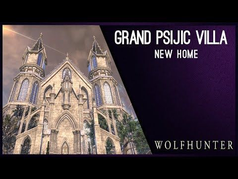 Grand Psijic Villa New House Wolfhunter Dlc Youtube Villa