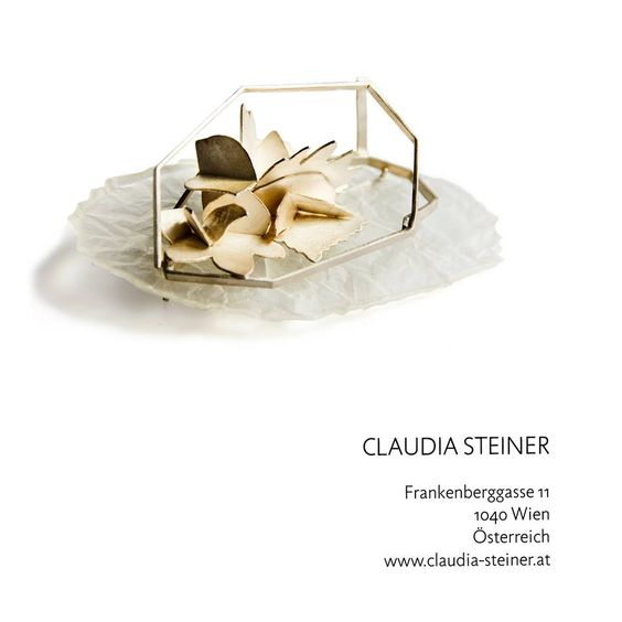 Claudia Steiner - EXPO 'INFLUENCES' - during the Munich Jewellery Week - B/E Galerie Benjamin Eck, Munich (DE) - 7-10 Mars 2018