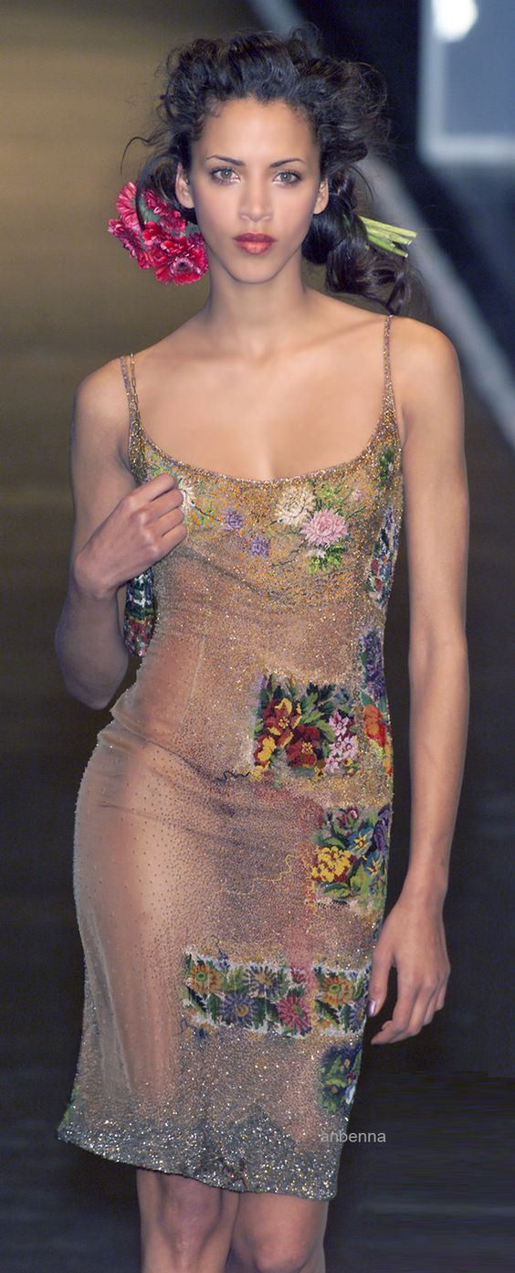 Jean Paul Gaultier's creation is ADORABLE!  Prolly not for ME but ADORABLE!