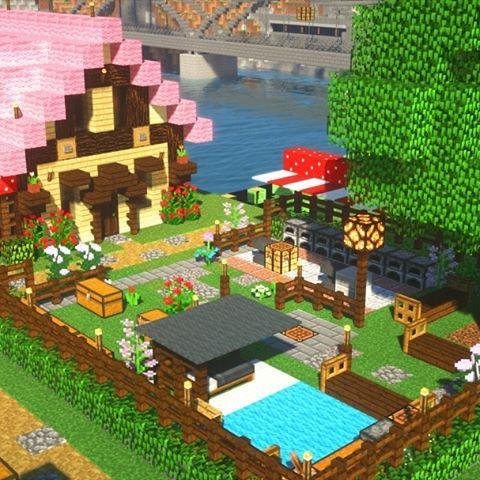マイクラ かわいい家 の画像検索結果 かわいい家 家 マイクラ 建築