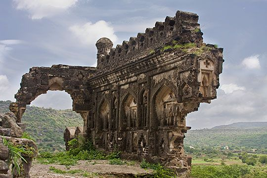 Daulatabad is a 14th century fort city in Maharashtra, India. The place, was once as known as Deogiri circa the sixth century AD, when it was an important uplands city along caravan routes and is now but a village, based around the former city of the same name.