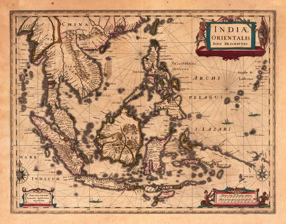 Image result for Indonesian Map 1853